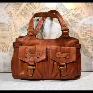 Fossil Vintage Rustic Leather Bag
